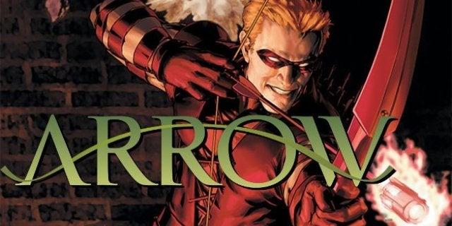 Arrow Season 7 Future Arsenal Costume Flash Forward