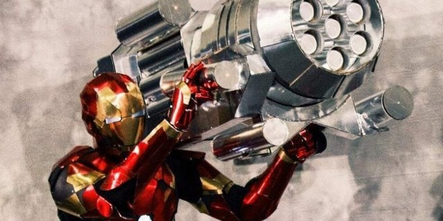 Avengers 4 Iron Man Proton Canon