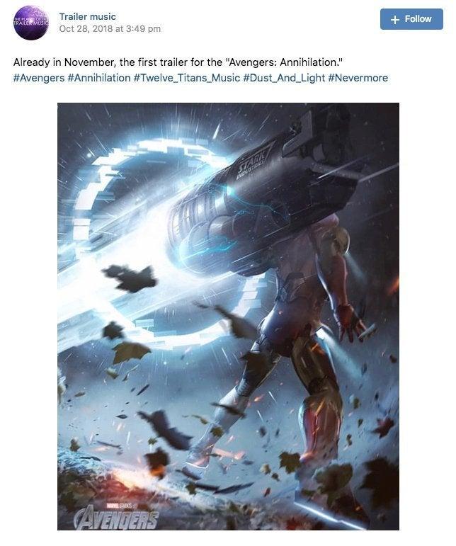 avengers 4 title release date