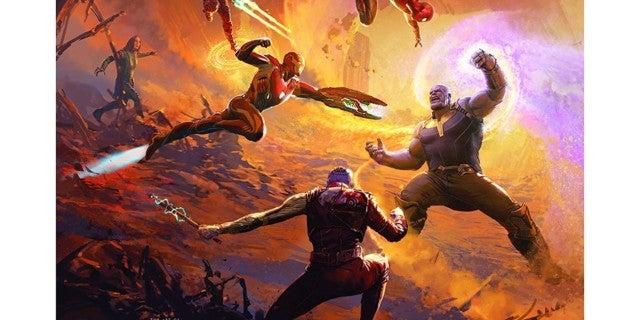 Avengers-Infinity-War-Art-Book-Cover