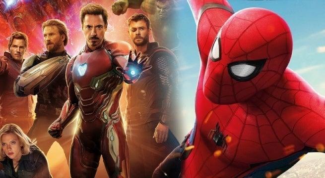 avengers infinity war spider man far from home
