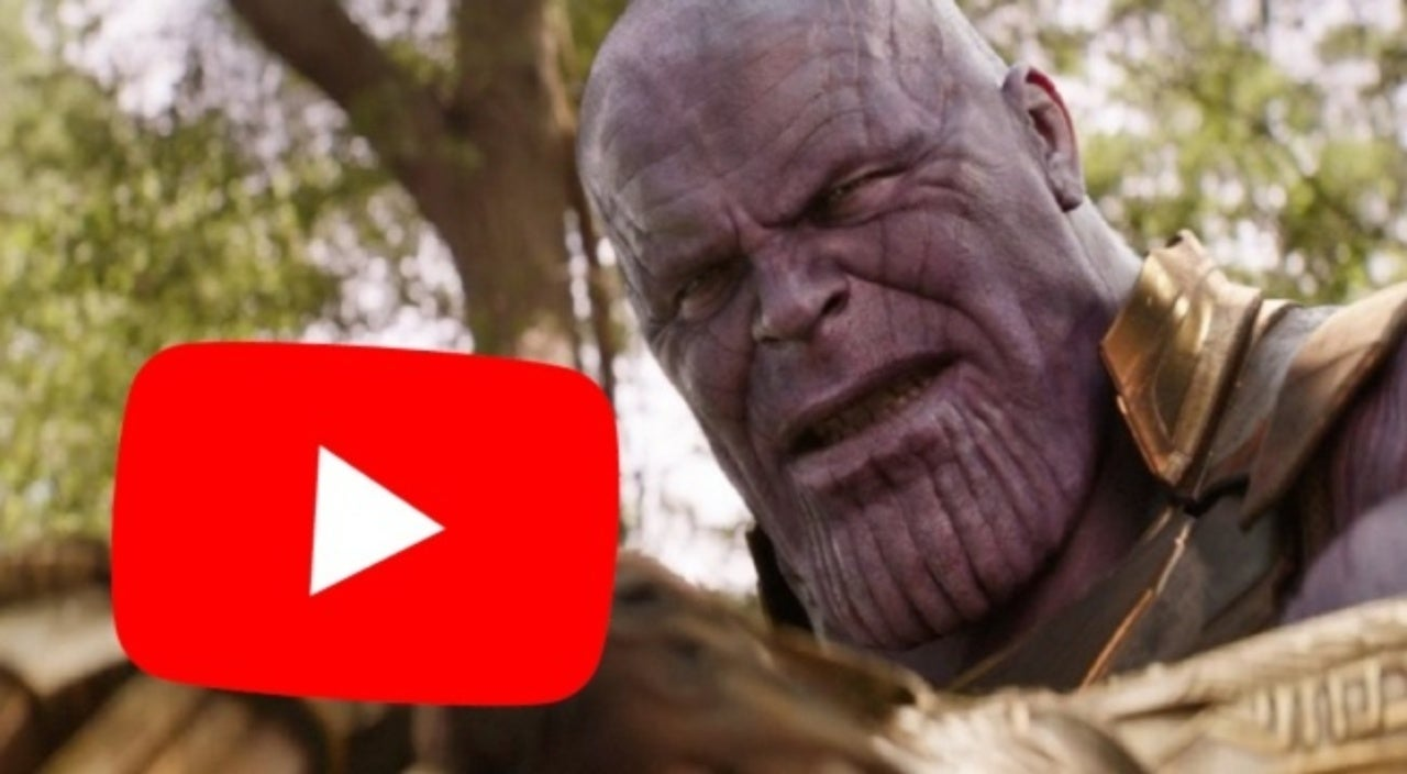 Marvel Fans Are Blaming Thanos for Youtube Being Down