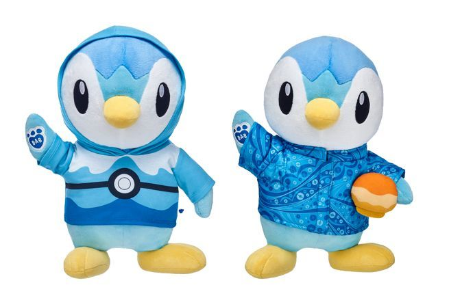 Build-A-Bear Pokemon PIPLUP Penguin Plush with Sound Voice STUFFED