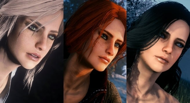 The Witcher's' Ciri, Triss, and Yennefer Invade 'Fallout 4
