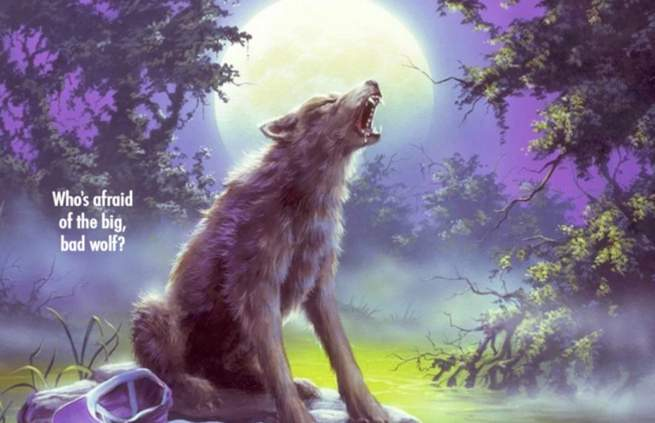Best Goosbumps Books - Werewolf of Fever Swamp