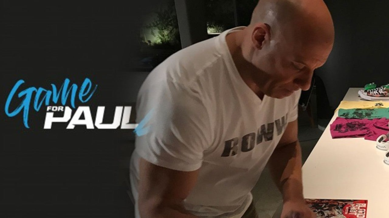 Paul Walkers Game4paul Charity Event Will Feature Exclusive Vin