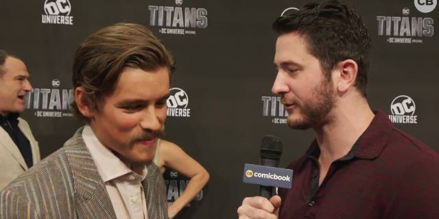 Brenton Thwaites Talks Titans screen capture