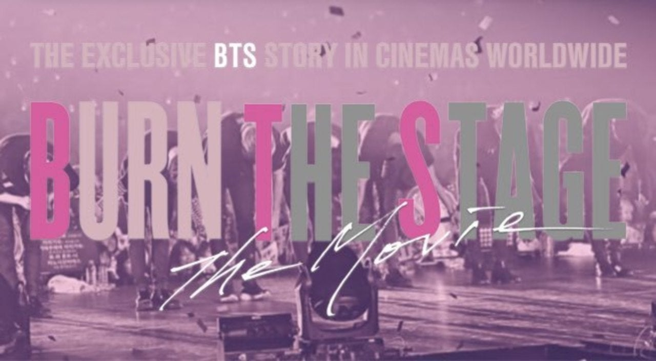 BTS Announces 'Burn The Stage: The Movie' Release Date