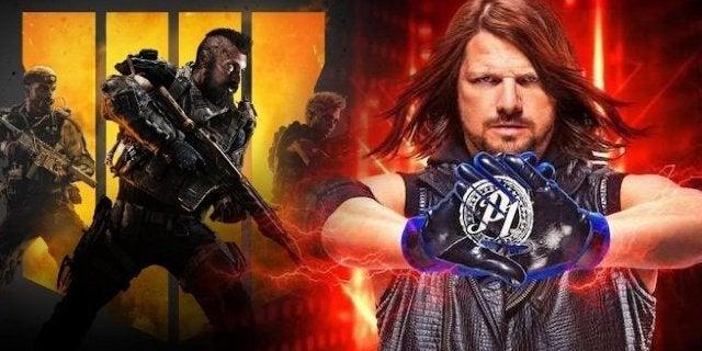 Call of Duty Black Ops 4 WWE 2K19