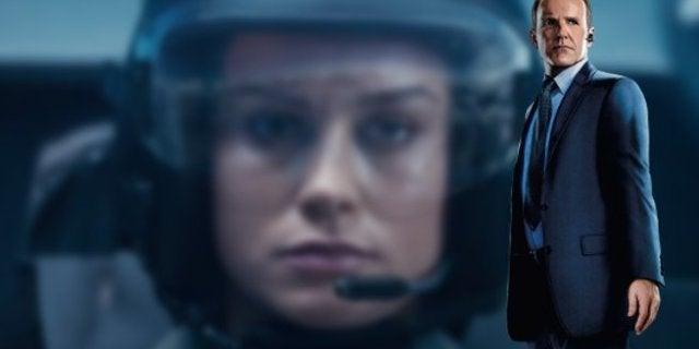 Captain Marvel Easter egg Agents SHIELD Carol Danvers Pilot Helmet