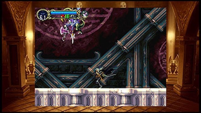 "Castlevania 2 ""title ="" Castlevania 2 ""height ="" 374 ""width ="" 665 ""class ="" 40 "" data-item = ""1141426"" /> </figure> <p> Yet, it's not perfect. The emulation has been awesomely handled by Konami's crew, there is a classic dialogue from the original <i> SOTN </i> between Belmont and Dracula, nowhere to find (including such jewels as ""Die, monster, you do not belong to this world!""), instead replaced by the dialogue from the PSP version. It's not bad, at least, but those who expect to shout ""WHAT IS A </p> <p> Outside the small changes here and there, both <i> Rondo of Blood </i> and <i> Symphony of the Night </i> act as charmers. There is still something incredible fun to roaming the halls through <i> Symphony </i> and find secrets you remember long ago. And <i> Rondo </i> is simply vintage <i> Castlevania </i> at its best, with an epic music score and the elementary school's visual to match. </p><div><script async src="
