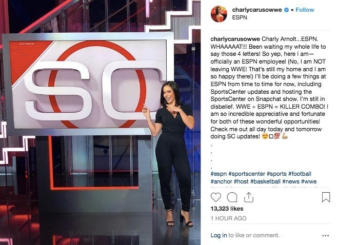 Image result for charly caruso espn