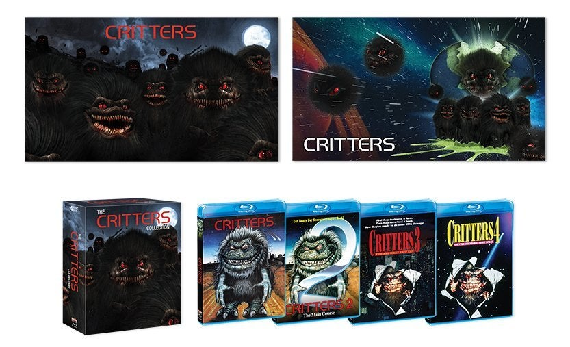 critters movie blu rray collection scream factory