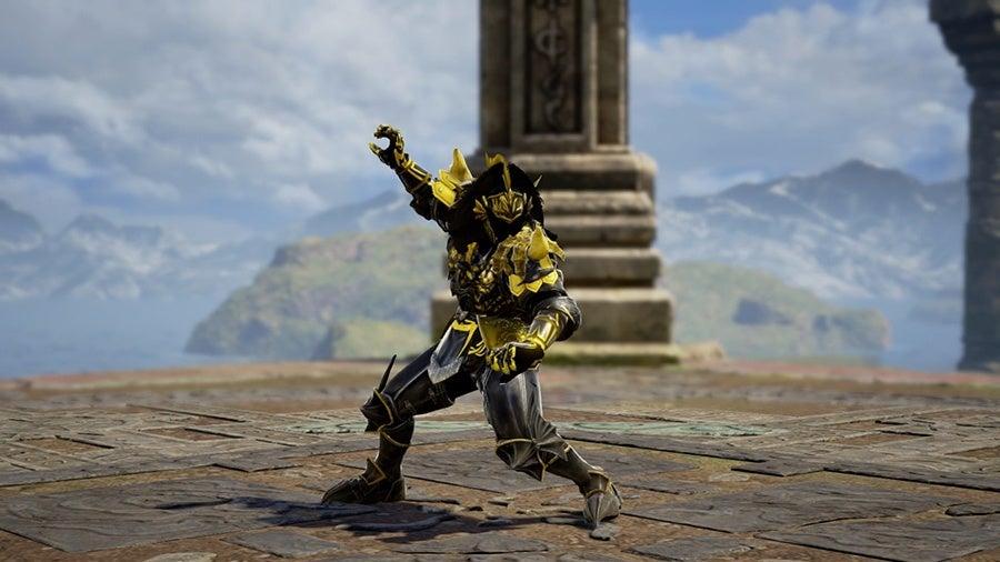 Power Rangers Fan Creates Soulcalibur VI Versions of Shadow