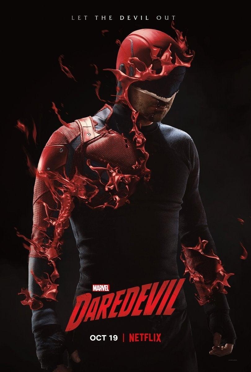 Marvel Fans Are Comparing the New Daredevil Poster to Venom