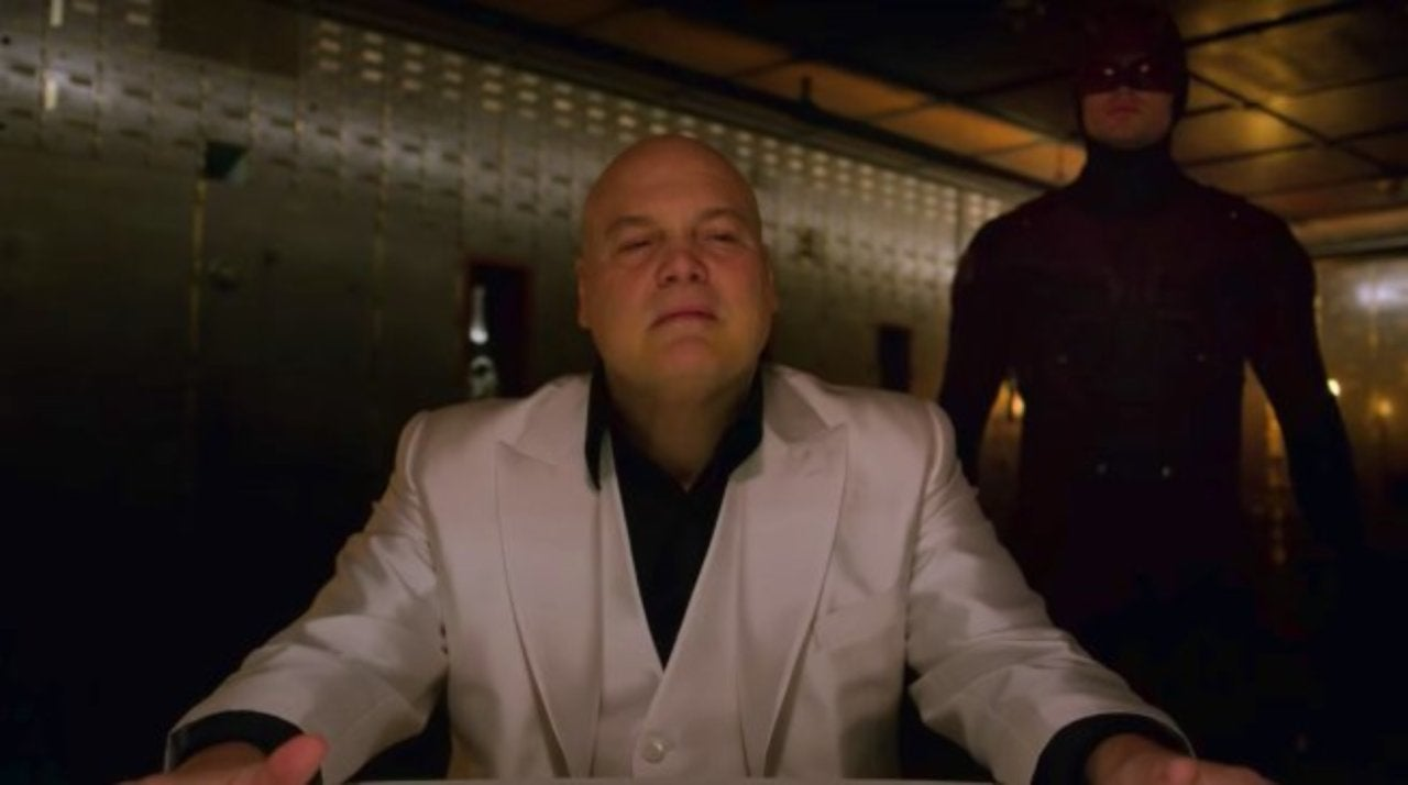 Daredevil's Vincent D'Onofrio Encourages Fans to Sign
