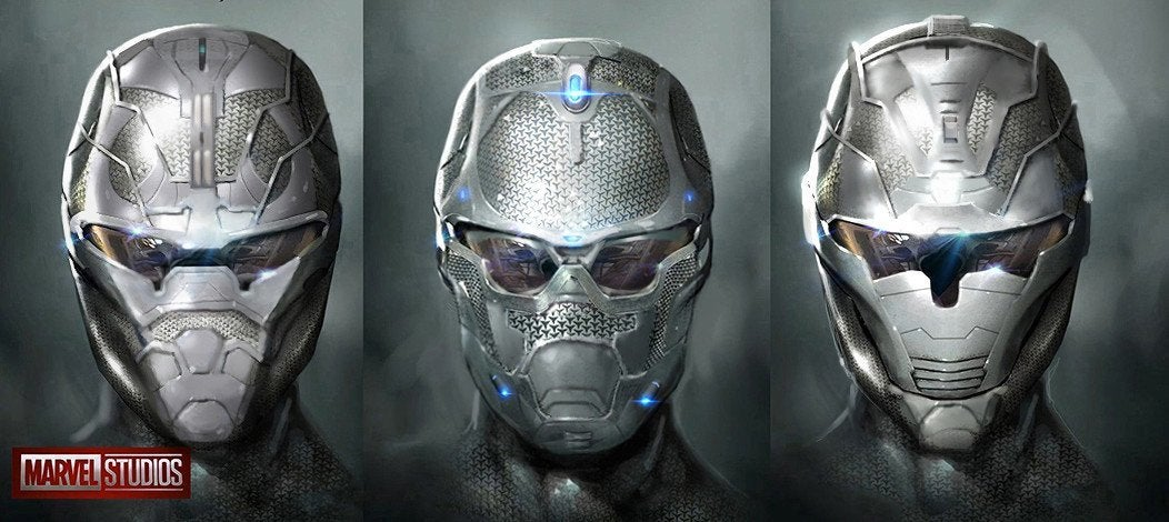Daren Horley Iron Man Under Helmet Avengers 4