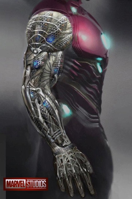 Daren Horley Iron Man Under Suit Avengers 4