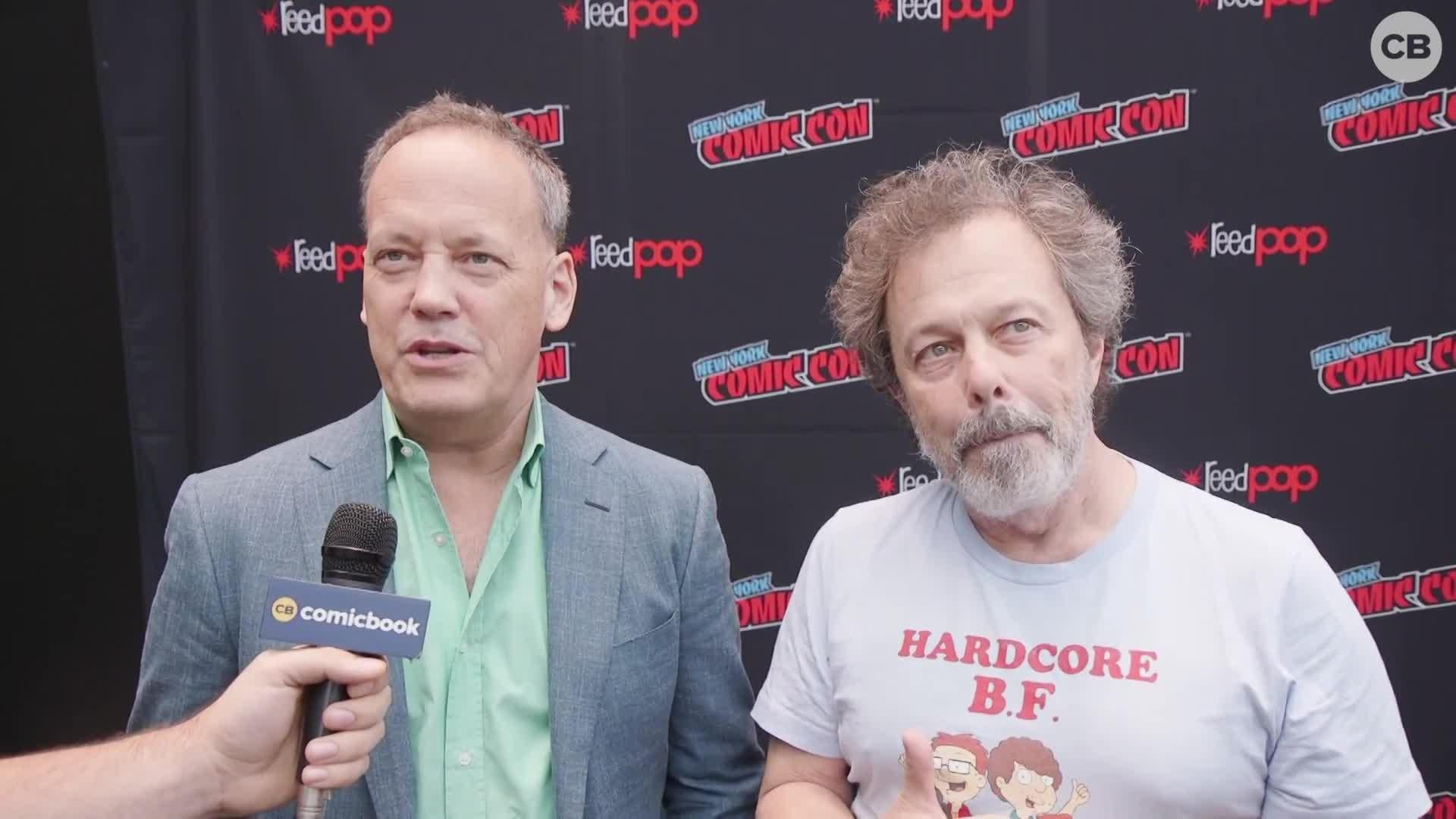 Dee Bradley Baker and Curtis Armstrong Talk American Dad screen capture