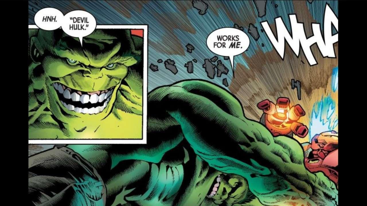 Image result for Immortal Hulk devil