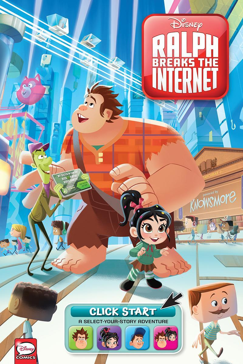 Disney S Ralph Breaks The Internet Select Your Story Adventure Cover Revealed