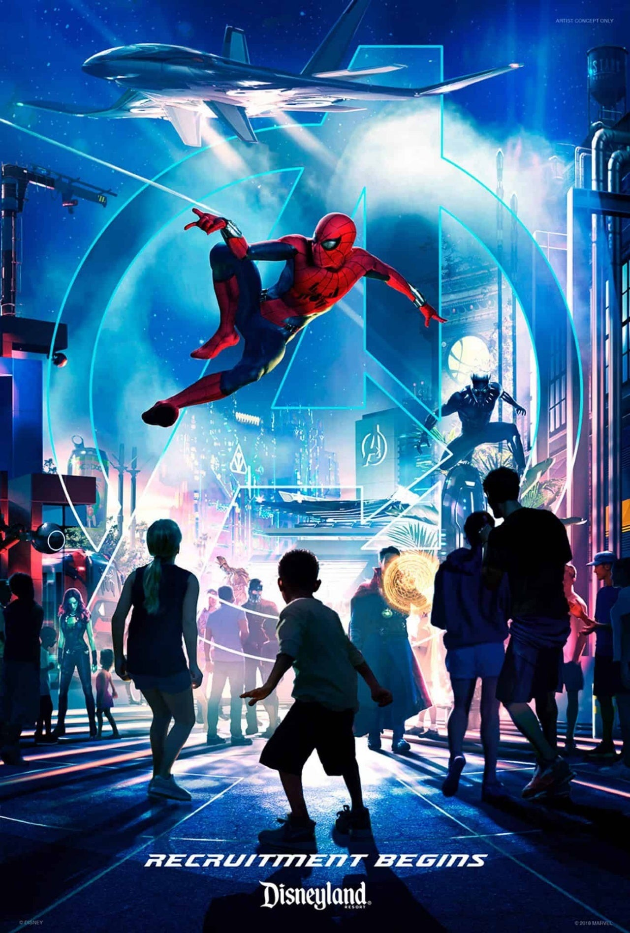 disneyland marvel land