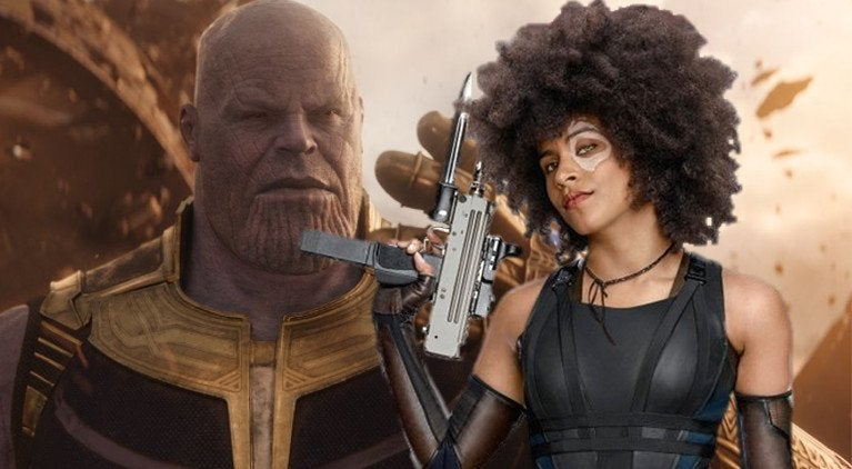 Domino vs Thanos