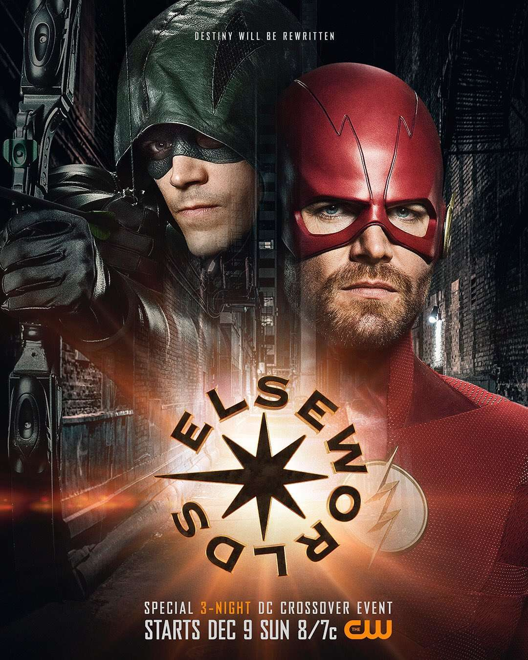 Image result for elseworlds poster