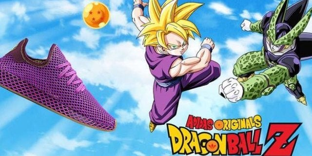 dragon ball adidas shoes