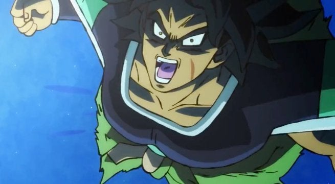 Dragon Ball Super Broly Fights