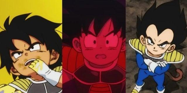 Dragon Ball Super Broly Goku Vegeta Ages