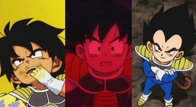 Dragon Ball Super Broly Goku Vegeta Ages