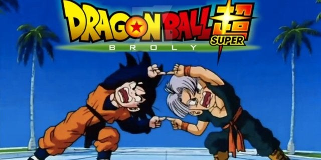 Dragon Ball Super Broly Goten Trunks Fusion Dance