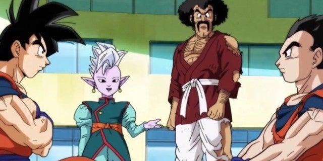 Dragon Ball Super Goku Gohan Image Training