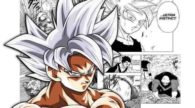 Dragon Ball Super Manga Goku Ultra Instinct Perfect Complete