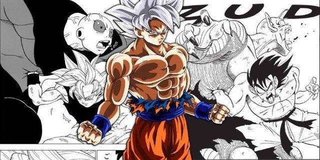 Dragon Ball Super Manga Goku vs Jiren vs Piccolo Reference