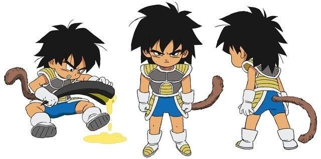 Dragon Ball Super Young Broly Promo Artwork