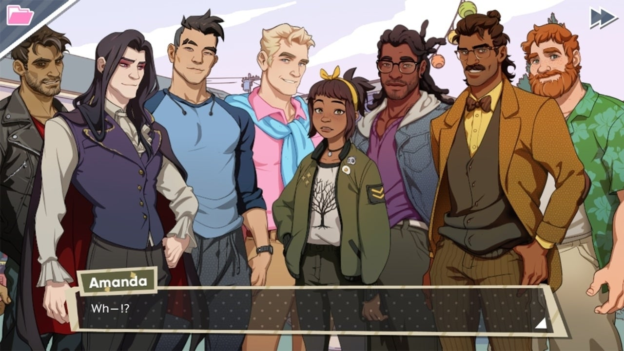 Dream Daddy' is Daddying Up PS4 With 'Dadrector's Cut'