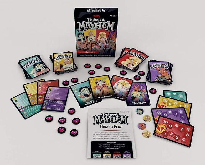 Dungeons Dragons Dungeon Mayhem Card Game Pre Orders Are Live