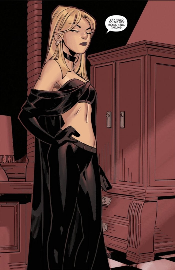 Emma Frost Black King