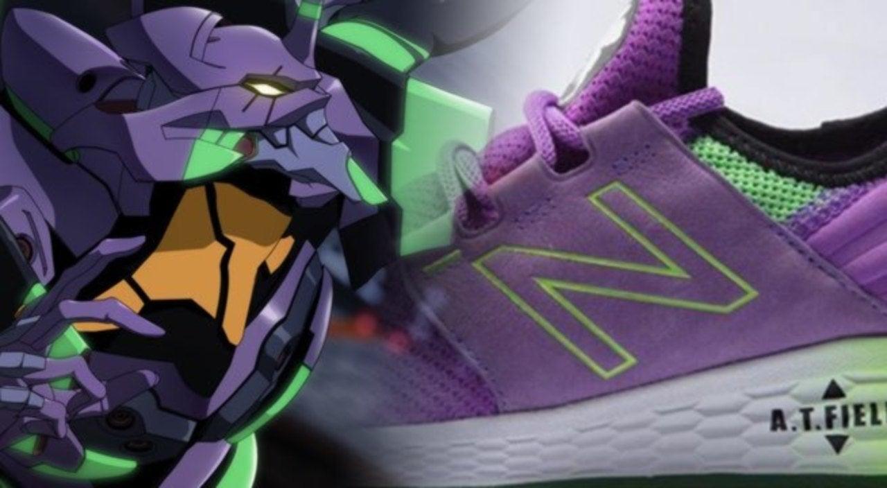 Ejecución Teoría de la relatividad Aprovechar  Evangelion' Reveals Sleek New Balance Sneaker Collection