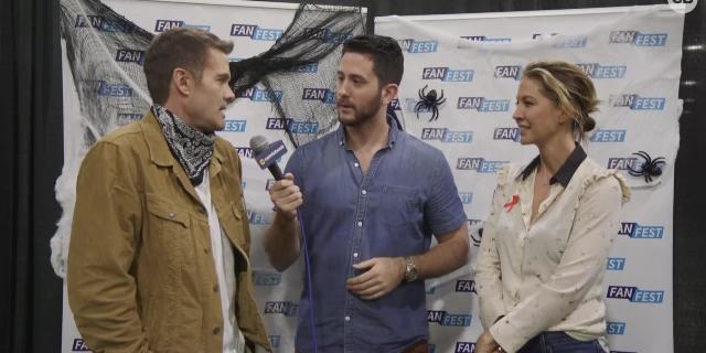 Exclusive Interview with Jenna Elman and Garret Dillahunt screen capture
