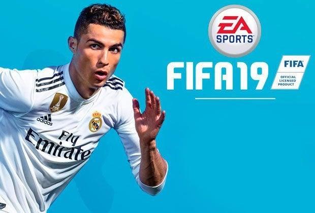 EA Monitoring FIFA Cover Athlete Cristiano Ronaldo