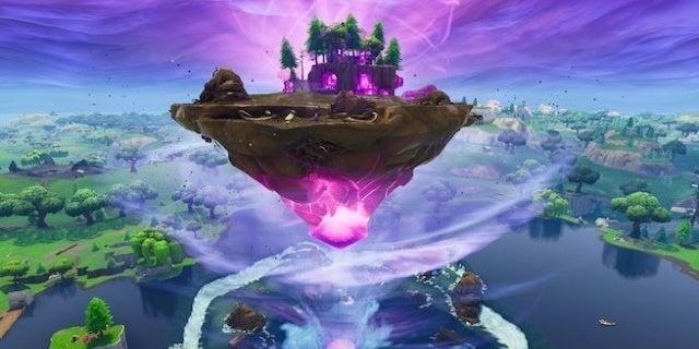 fortnite cube island