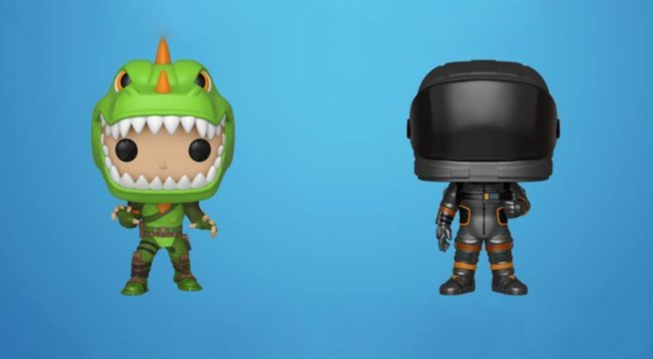 New 'Fortnite' Funko Pops Include Rex and Dark Voyager