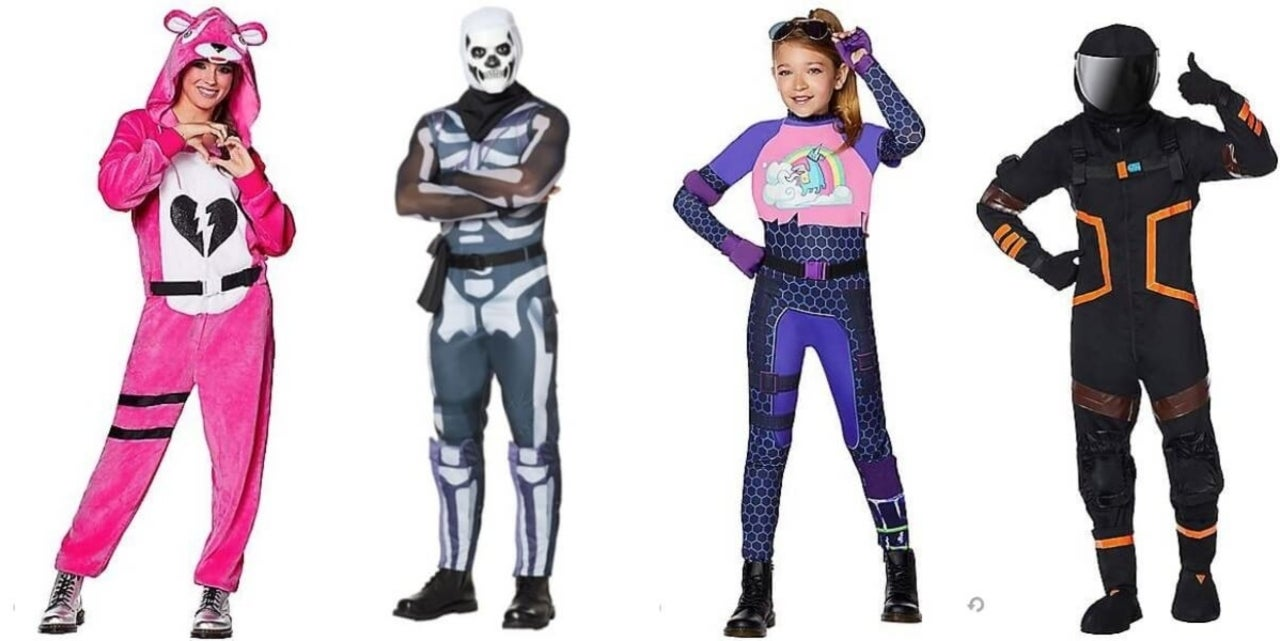 Halloween Fortnite Characters.Fortnite Is The Most Popular Halloween Costume Of 2018