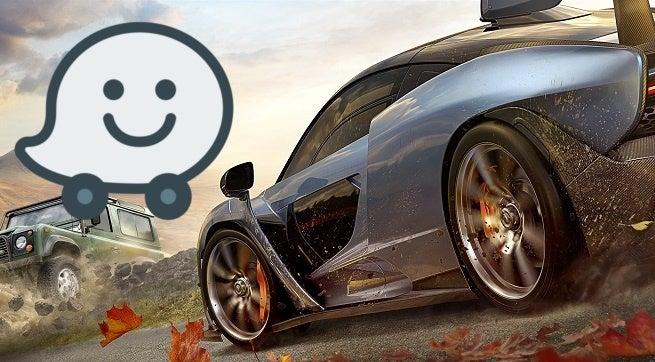 Forza Horizon 4 Waze
