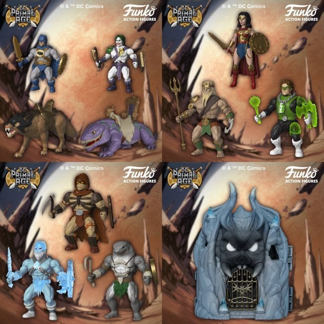 Funko's Buff DC Comics Primal Age Figures Are Shipping Now