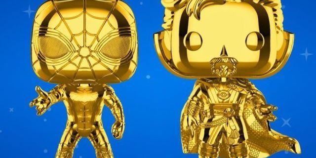 funko-gold-chrome-iron-spider-and-doctor-strange-pops-top