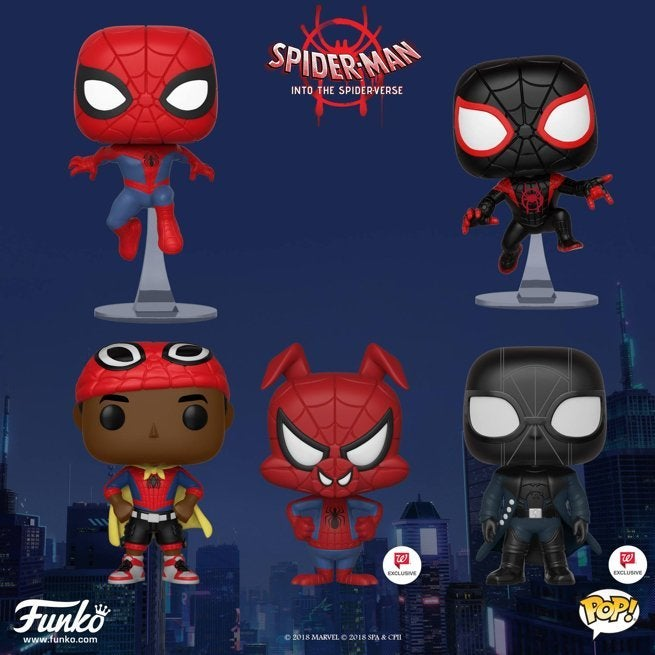 e9134105c1f Funko Launches  Spider-Man  Into the Spider-Verse  Pop Figures